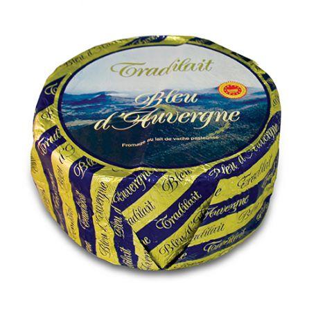 Sajt márványsajt bleu dauvergne kerek francia 2,5kg
