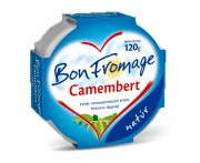 Sajt camembert bon fromage kerek 120gr