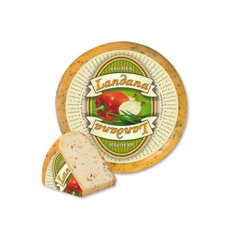 Holland zöldfűszeres gouda sajt 4kg