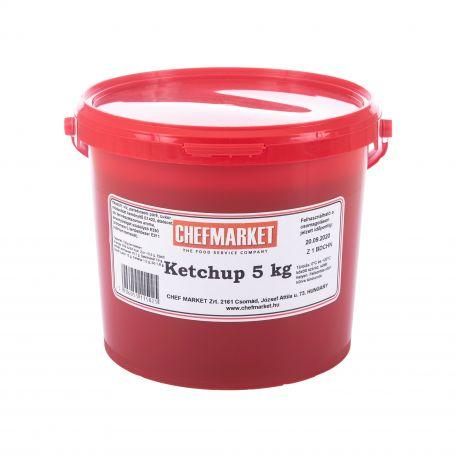 Ketchup vödrös 5kg