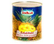 Ananász konzerv szeletelt 3050/1790g