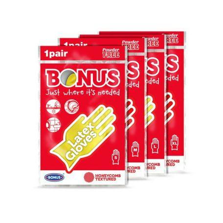 Bonus háztartási gumikesztyű S