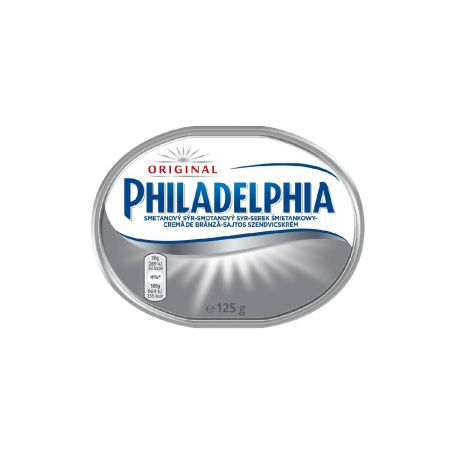Philadelphia natúr sajtkrém 125g