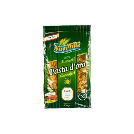 Pasta doro gluténmentes fusilli 500g CWITA