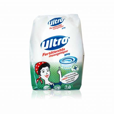 Ultra fertőtlenítős mosogatópor 500g