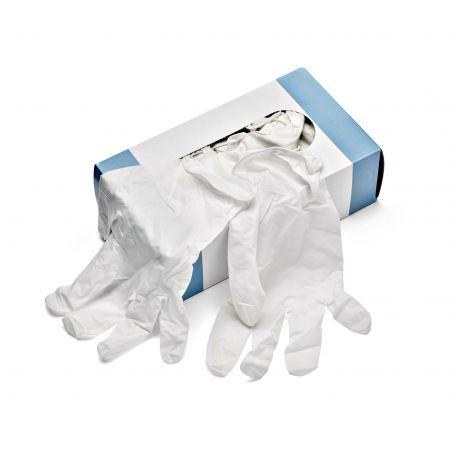 Konyhai/orvosi latex gumikesztyű L 50pár