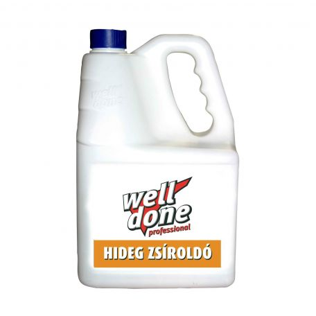 Well Done hideg zsíroldó 5l