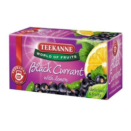 Teekanne feketeribizli-citrom tea 50g
