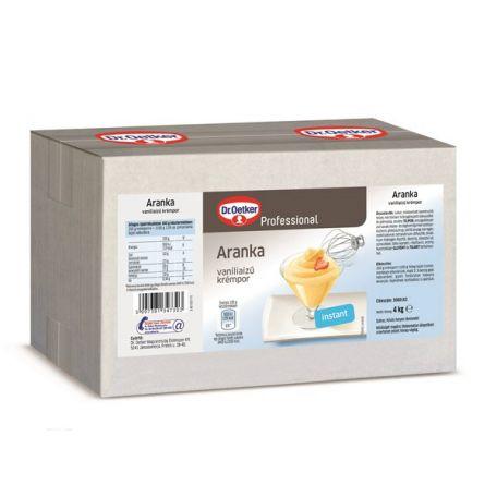 Krémpor vaníliás hideg aranka dr.oetker 4kg