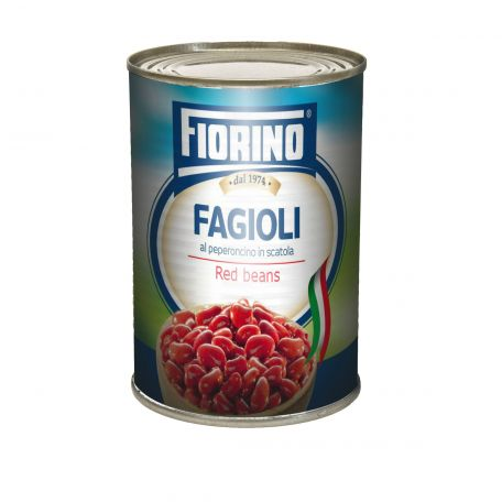 Konzerv vörösbab tépőzáras olasz 400gr