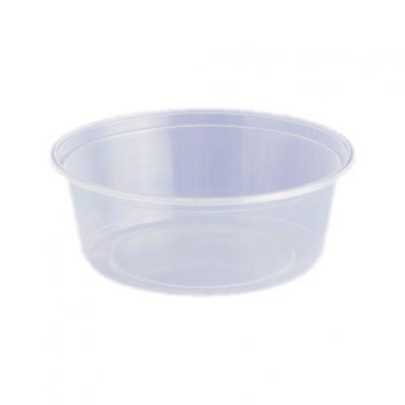 Műanyag víztiszta kerektál 500ml
