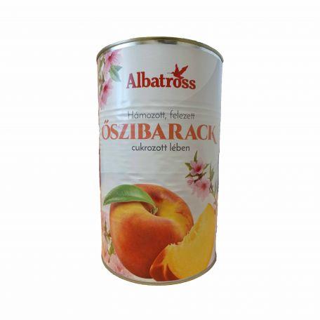 Őszibarack konzerv 4200/2400g
