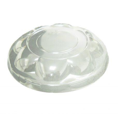 Műanyag sziromtál tető