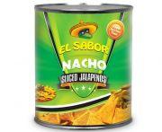 El sabor jalapeno paprika szeletelt 2900/1500g