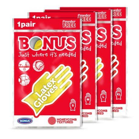 Bonus háztartási gumikesztyű M
