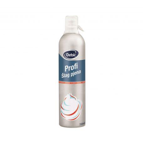 Debic slag pjena UHT tejszínhab spray cukrozott 26% 700ml