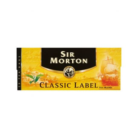 Sir Morton classic label tea 20x1,5g