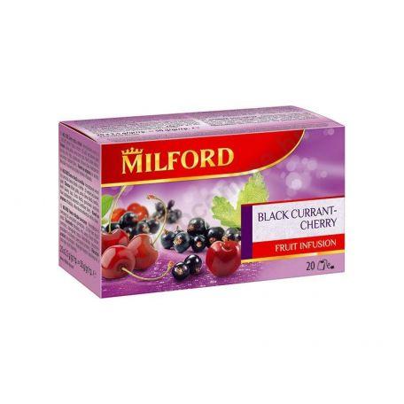 Milford feketeribizli-cseresznye tea 20x2,5g