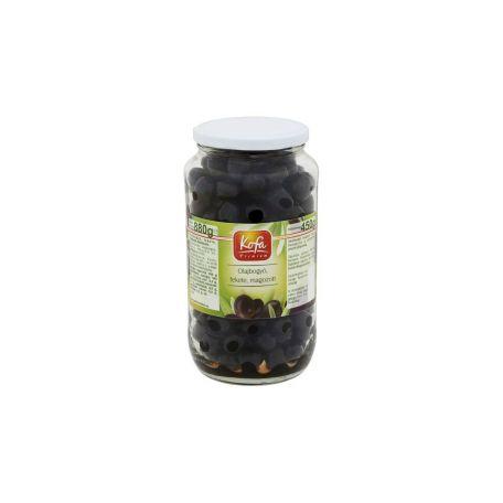 Fekete olívabogyó magozott 880/450g