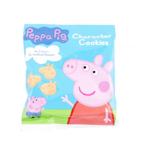 Pappa Pig Character Cookies 12x20g