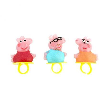 Peppa pig ring pop/ 24db nyalóka gyűrű