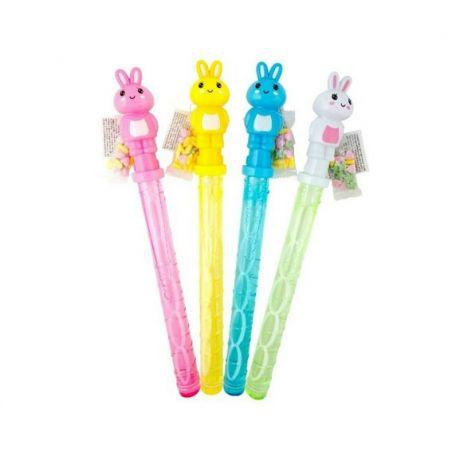 Bunny bubble blower /16db nyuszis buborékfújó cukorkával