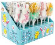 Chicken and bunny jelly pop /24db csirke és nyúl zselés nyalóka
