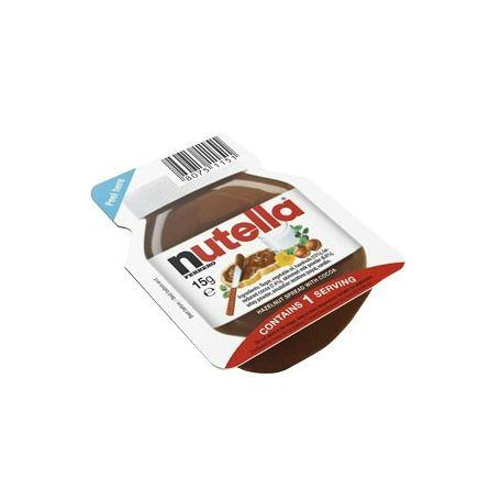 Nutella mini mogyorókrém 15g 60db/karton