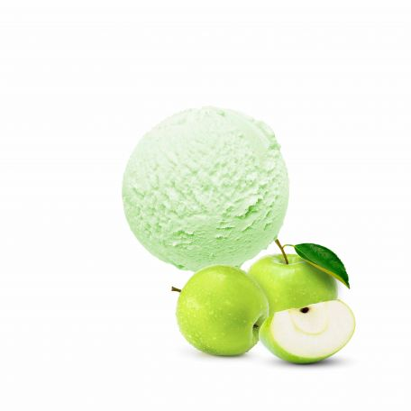 Giuso zöldalma 300 fagylalt por 1,2kg