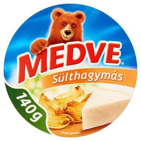 Medve sülthagymás ömlesztett sajt cikkelyes 140g