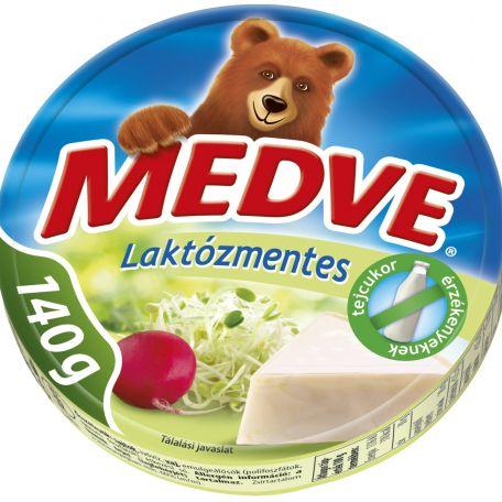 Medve laktózmentes ömlesztett sajt cikkelyes 140g