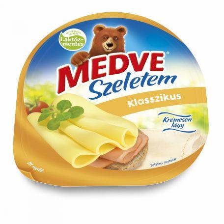 Medve Szeletem klasszikus laktózmentes szeletelt sajt 125g