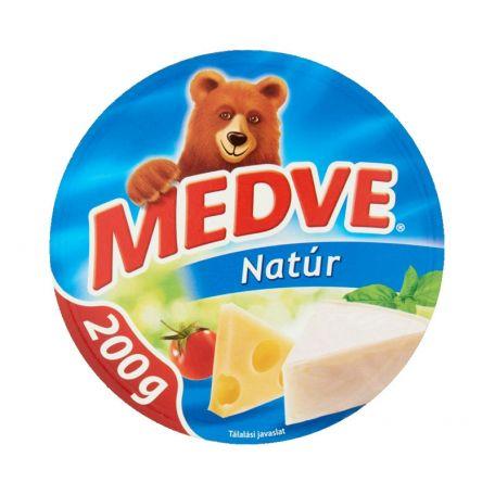 Medve natúr ömlesztett sajt cikkelyes 200g