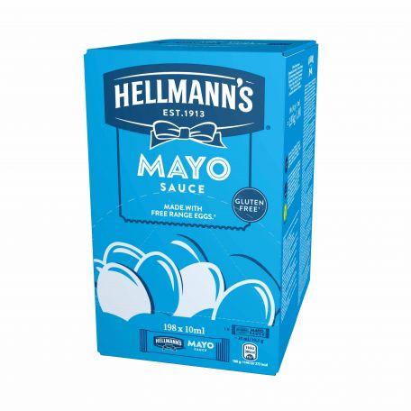 Hellmann's mini light majonéz 198x10ml