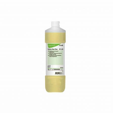 Suma Star Des D1.55 kézi fertőtlenítő folyékony mosogatószer 1l
