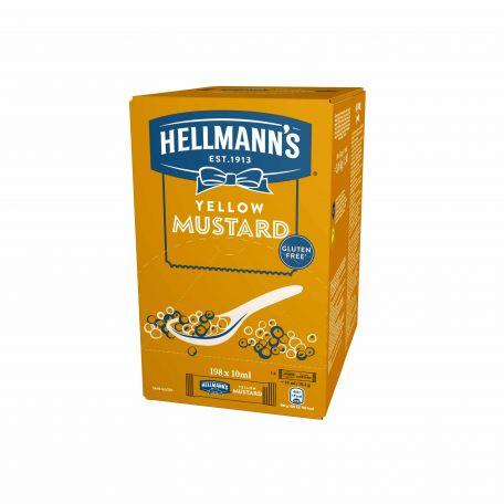 Hellmanns mini mustár 198x10ml/karton