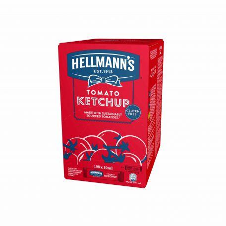 Hellmann's mini ketchup 198x10ml/karton