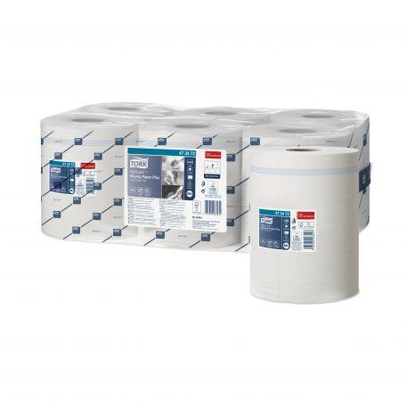 Tork belsőmagos 2 rétegű fehér papírtörlő 150m 450lap 6db/karton