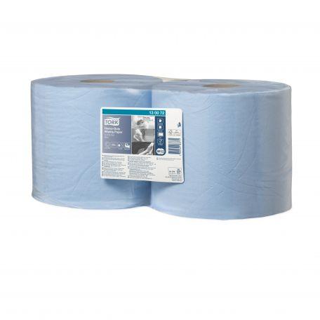 Tork belsőmagos 2 rétegű kék papírtörlő 170m 500lap 2db/karton