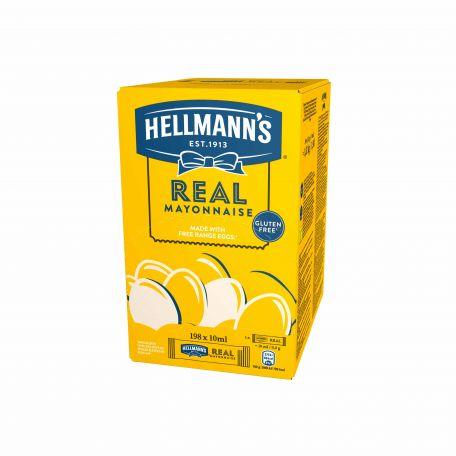 Hellmann's mini majonéz 198x10ml/karton