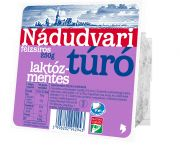 Túró tehéntúró félzsíros laktózmentes nádudvari 250 gr (elo)