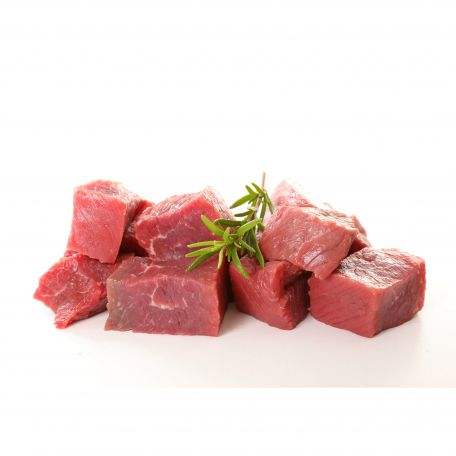 Alpesi marha hús 100% kockázva 1,5x1,5cm 2kg