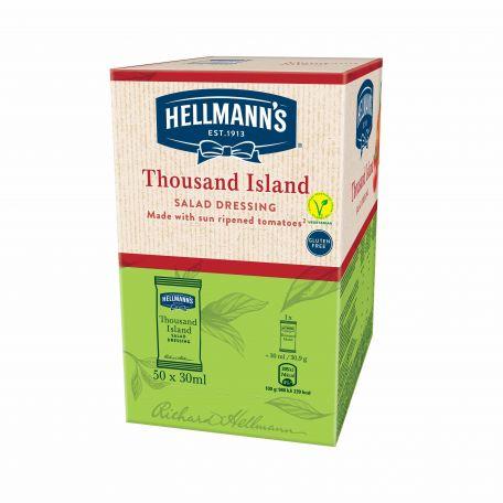 Hellmann's ezersziget öntet 50x30ml