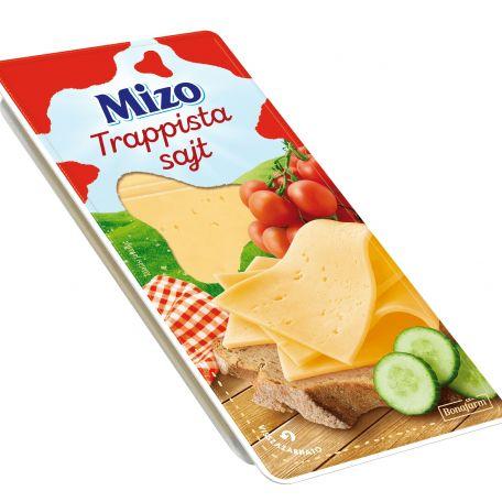 Mizo trappista sajt szeletelt 125g