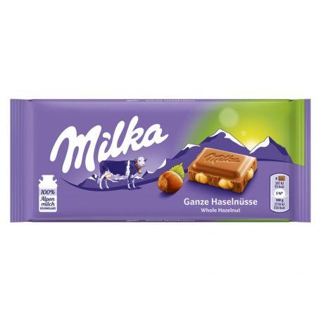 Milka egészmogyorós tejcsokoládé 100g