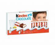 Kinder tejcsokoládé szelet T8 100g SW.