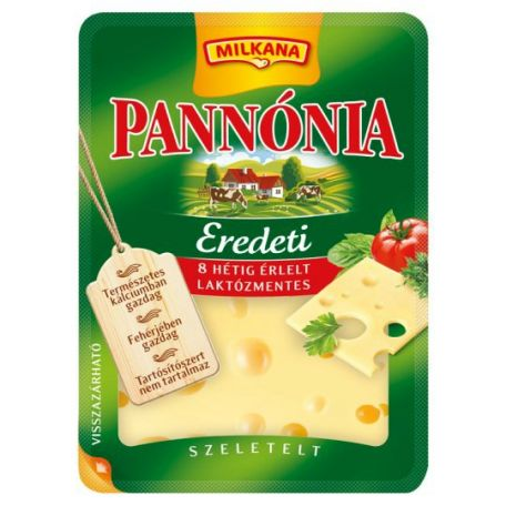 Pannónia eredeti sajt szeletelt 125g