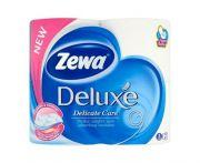 Zewa Deluxe 3 rétegű wc papír 12cm 4tekercs