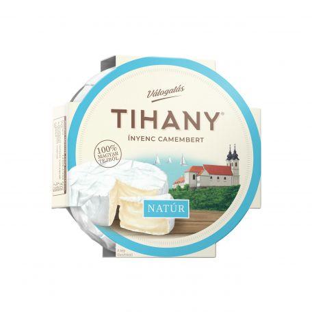 Tihany natúr ínyenc camembert sajt 125g