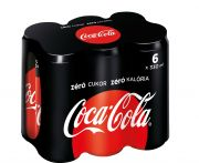 Coca-Cola zero multipack 6x330ml